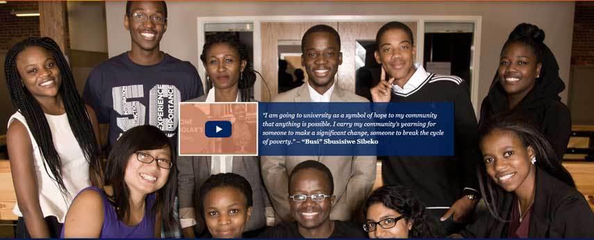 MasterCard Foundation Scholars Program at Duke