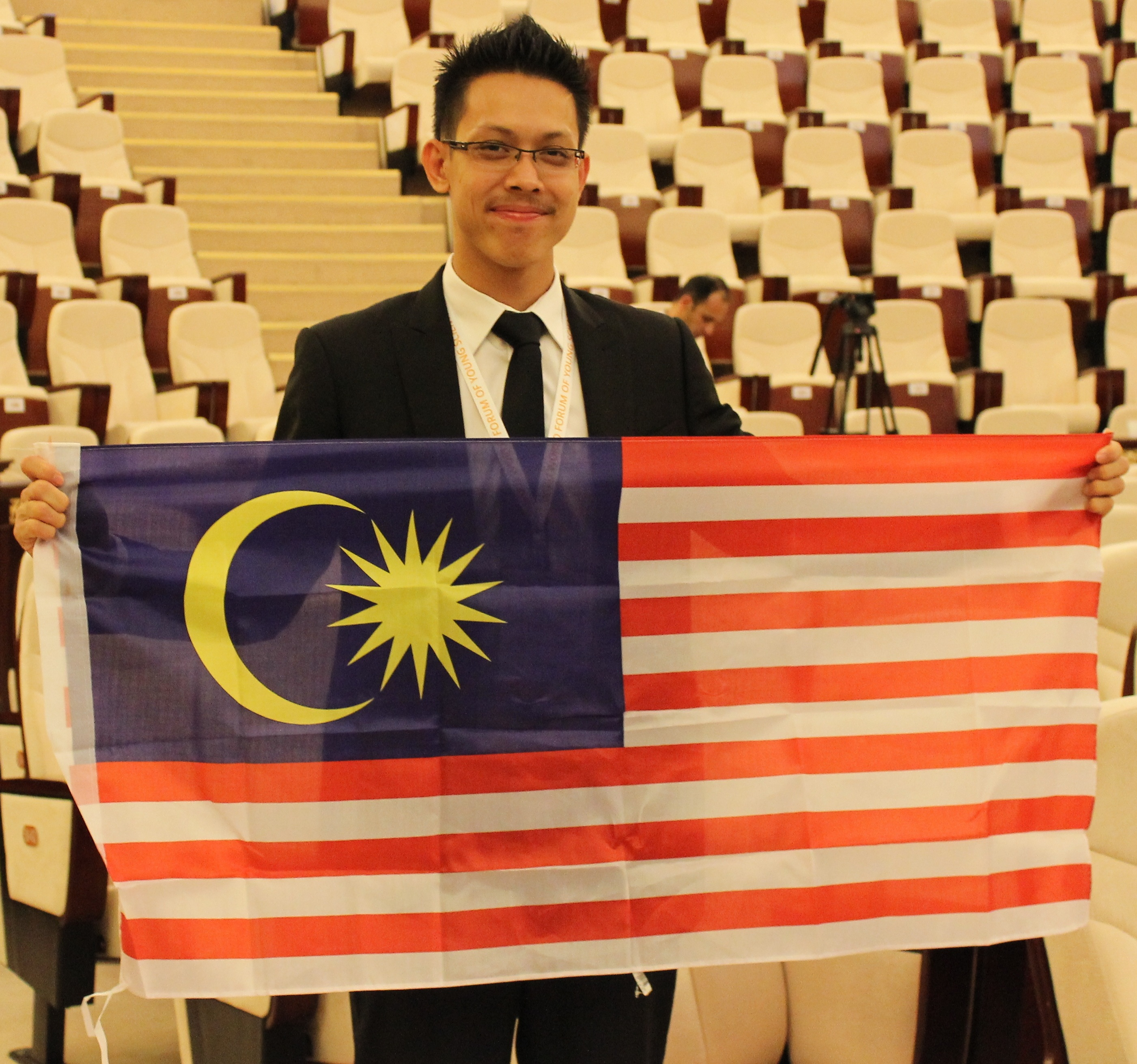 Chuck Chuan from Malaysia is OpportunityDesk Jan. 2015 Young Person of the Month