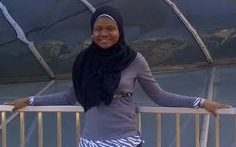 Zaidat Ibrahim from the United States is the December 2014 Young Person of the Month