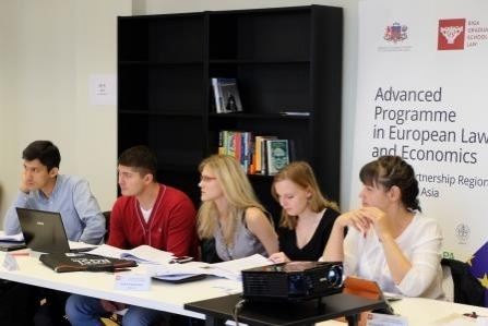 Apply for a Certificate Advanced Programme in Law and Economics – Riga, Latvia