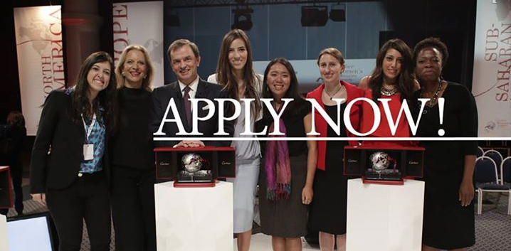 Cartier Women's Initiative Awards 2015 – Win $20,000 in Funding for Your Business