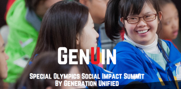Apply to attend the Special Olympics Social Impact Summit By Generation Unified 2015