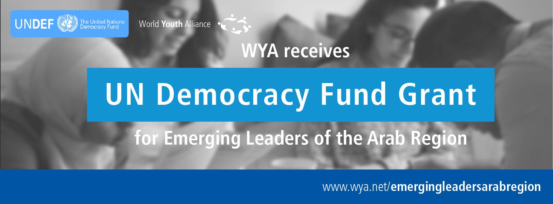 World Youth Alliance – Emerging Leaders of the Arab Region Program 2015