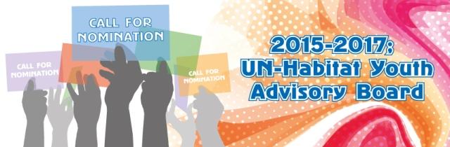Call for Nomination: UN-Habitat Youth Advisory Board 2015-2017