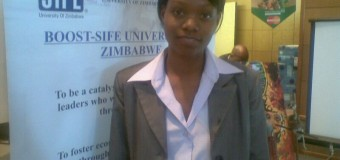 Memory Mushininga from Zimbabwe is OD Young Person of the Month for April 2015