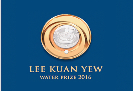 Lee Kuan Yew Water Prize 2016- $300,000 Prize