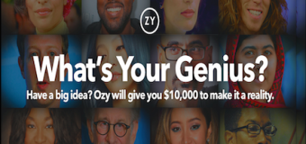 OZY Genius Awards Contest- $10,000 USD Award For College/University Students