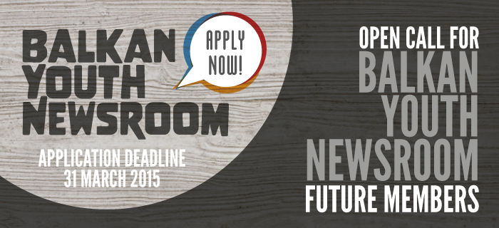 Participate in the Balkan Youth Newsroom – Apply Now!