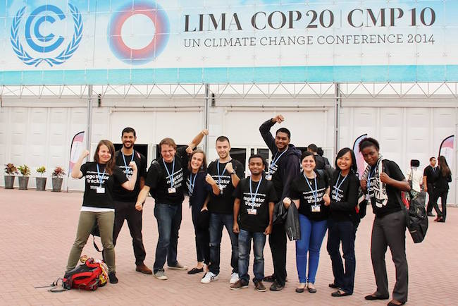 Adopt a Negotiator COP21 Fellowship to attend UN Climate Change Conference in Paris