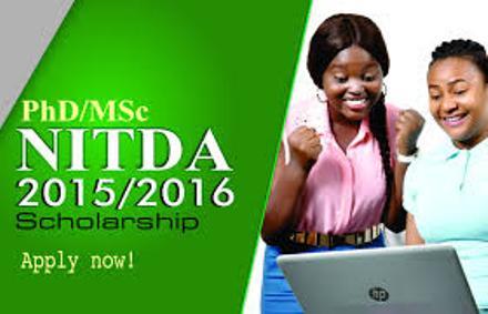 2015/16 NITDA Postgraduate Scholarship Scheme for Nigerians