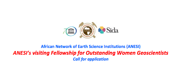 UNESCO ANESI's Visiting Fellowship for Outstanding Women Geoscientists 2015