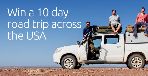 2015 World Nomad Travel Scholarship -Win a 10-Day Road Trip Across The USA