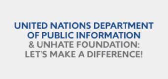 UNHATE Foundation/UNAI International Diversity Contest
