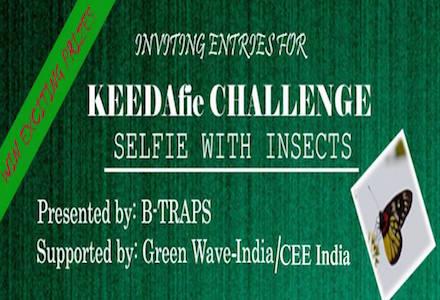 Biodiversity Challenge: KEEDAfie- Selfie with Insect Challenge