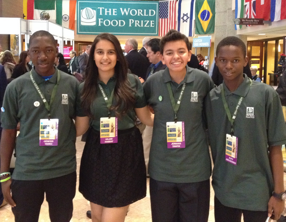 2015 World Food Prize Global Youth Institute for Students – Iowa, USA