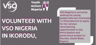 Volunteering Opportunity with VSO for Young Nigerians