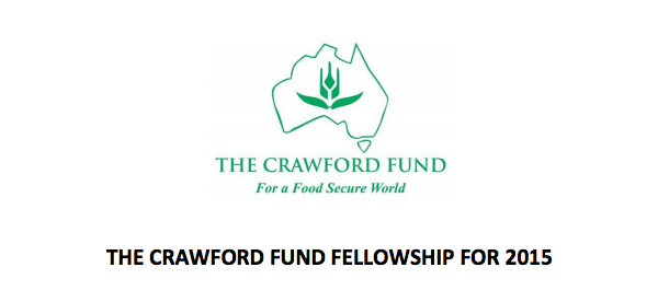 2015 Crawford Fund Fellowship for Young Agricultural Scientists