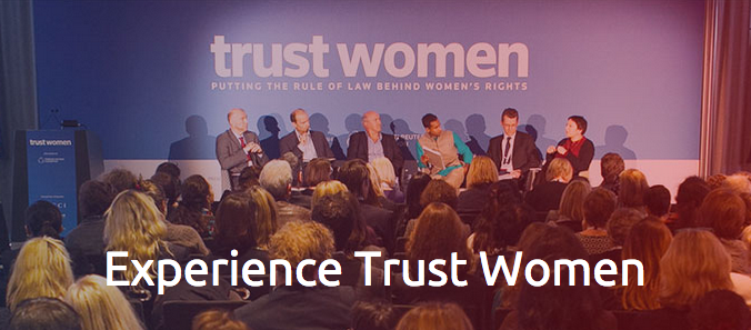 Scholarship to attend Trust Women Conference 2015 in London
