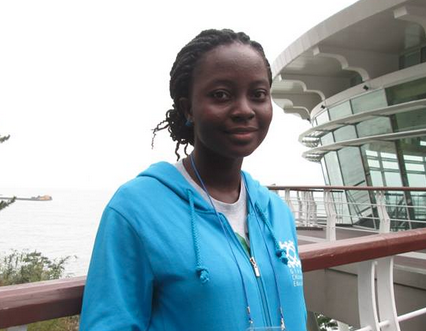 Victoria Ibiwoye from Nigeria is the OD Young Person of the Month for May 2015