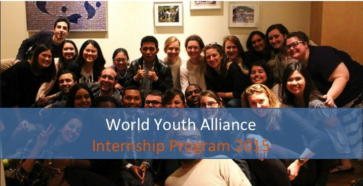 World Youth Alliance Regional & International Internship Programs 2015 (Batch 3)