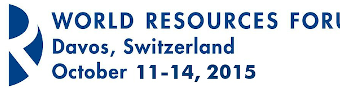 World Resources Forum 2015 -Davos Switzerland (Partial Funding For Talented Students)