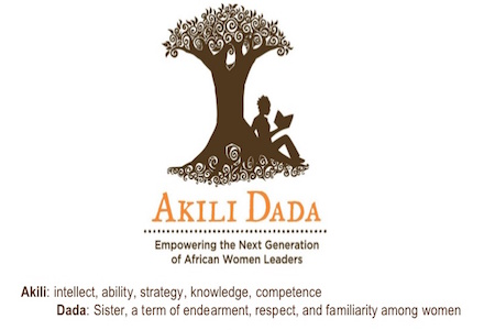 Akili Dada's Young Women Leadership Development Workshop 2015