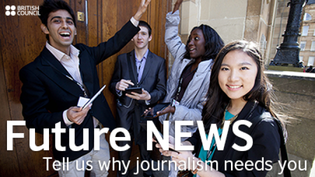 British Council Future NEWS Conference 2015 – Edinburgh, Scotland (Fully-funded)