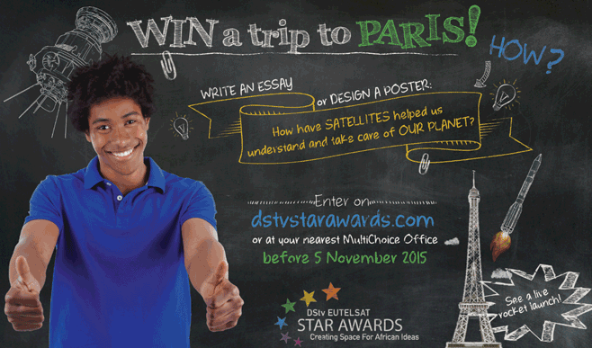 DStv Eutelsat Star Awards Competition 2015 – Win a trip to Paris or Johannesburg!