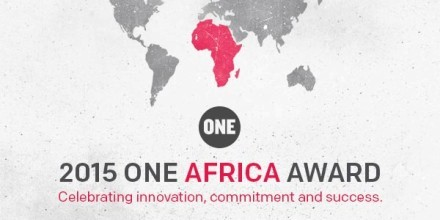 The 2015 ONE Africa Award- $100,000 Cash Award
