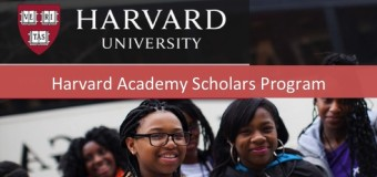 Harvard University Academy Postdoctoral Fellowship 2015