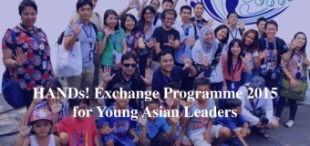 Japan Foundation HANDs! Exchange Programme for Young Asian Leaders