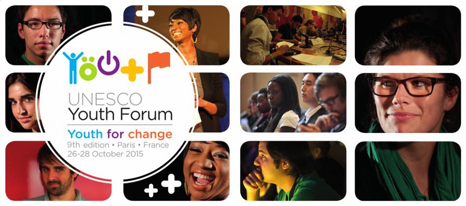 Apply to Participate in the 9th UNESCO Youth Forum 2015 – Paris, France