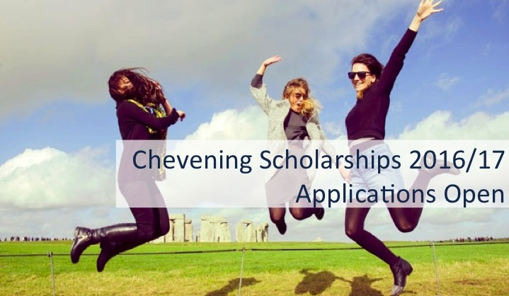 Chevening Masters Scholarship to Study at any UK University 2016/2017