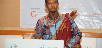 Charles Onu from Nigeria is the OD Young Person of the Month for September 2015