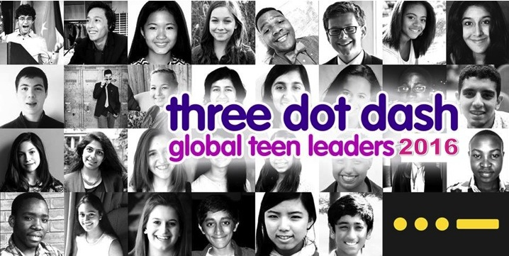 Three Dot Dash Global Teen Leaders Program 2016 – New York City, USA (Fully-funded)