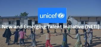 UNICEF New and Emerging Talent Initiative (NETI) Programme 2015