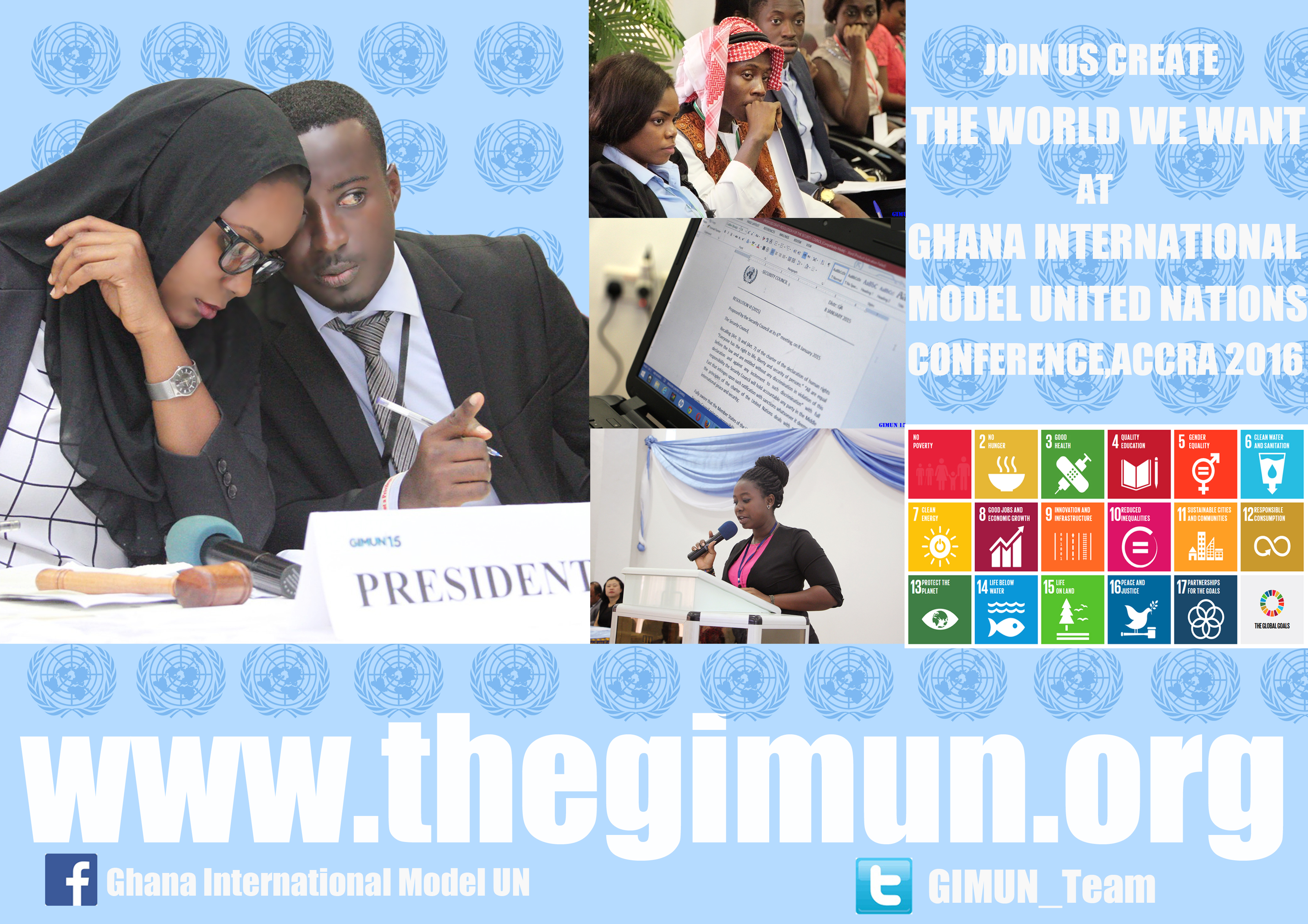 Apply as a Delegate to the GIMUN Conference for Youth 2016 – Accra, Ghana