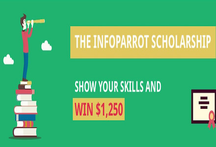 The Infoparrot Global Scholarship of Academic Excellence 2015