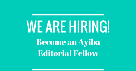 Ayiba Magazine Editorial Fellowship 2016
