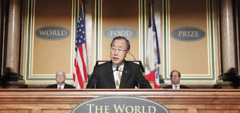 Call For Nominations: 2016 World Food Prize