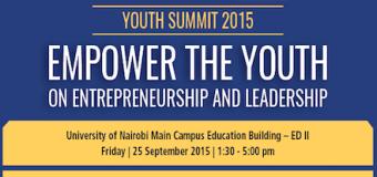 Apply to attend World Youth Alliance Africa Summit – Nairobi, Kenya