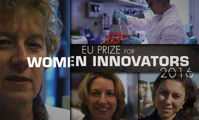 EU Prize for Women Innovators 2016