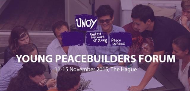 UNOY Young Peacebuilders Forum 2015 – The Hague, Netherlands