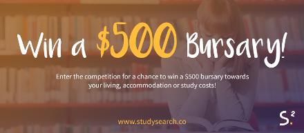 StudySearch $500 Bursary Award Promotional Kit