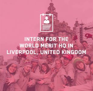 World Merit Internships -Liverpool, United Kingdom (4 Internships!)