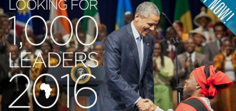 2016 Mandela Washington Fellowship for 1,000 Young African Leaders (fully-funded)
