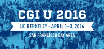 Apply to attend Clinton Global Initiative University 2016 at UC Berkeley (More than $750k in Funding)