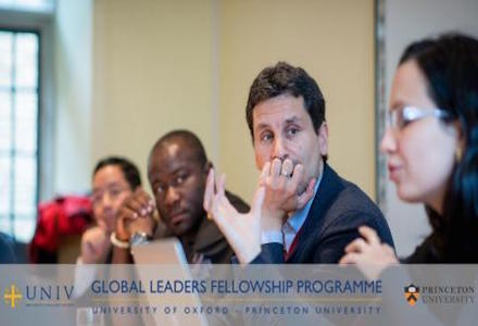 2015 Oxford-Princeton Global Leaders Fellowship Programme (Funded)