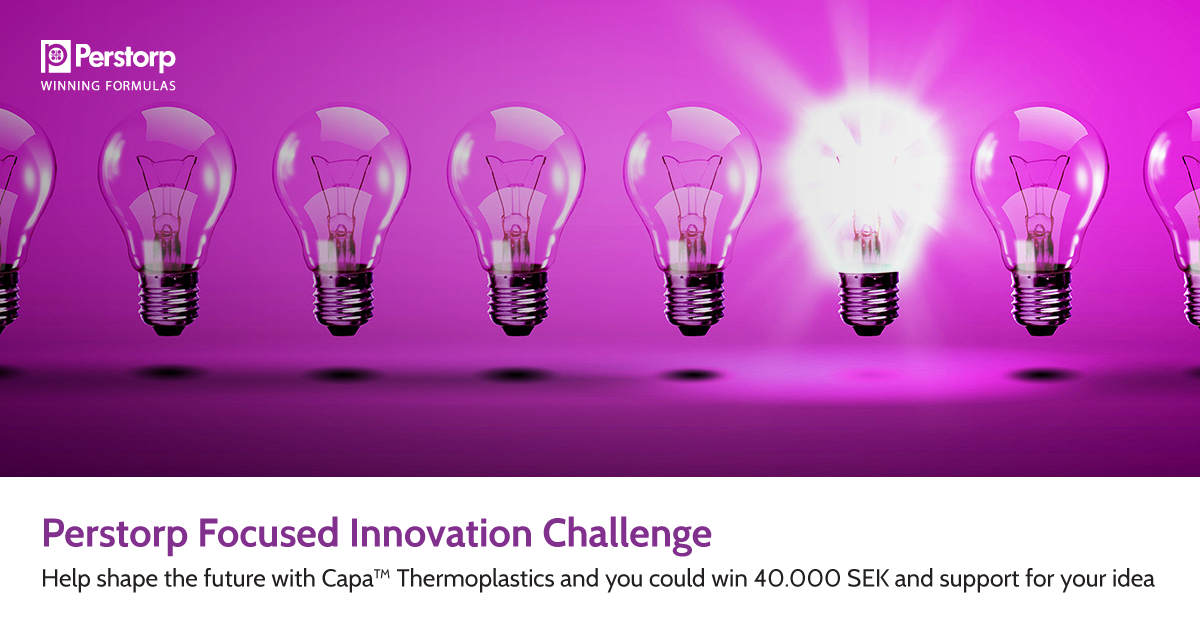 Apply to Perstorp Focused Innovation Challenge