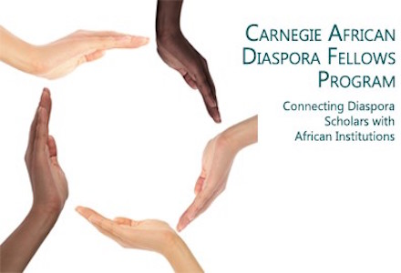 Carnegie African Diaspora Fellowship Program 2016